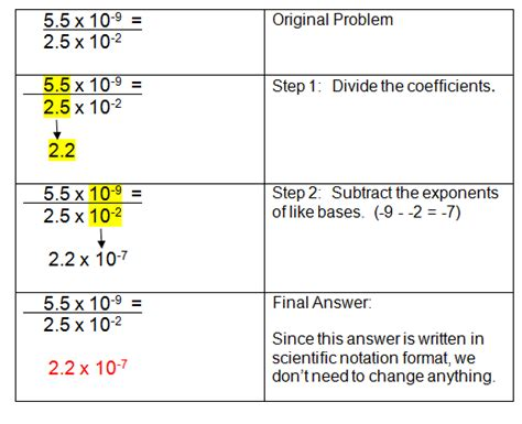 scientific notation multiplication and division practice