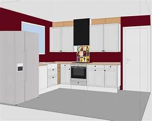 Rénover sa cuisine à bas prix en gardant les meubles ETAPE 3 plans IKEA meubles Hygéna promo