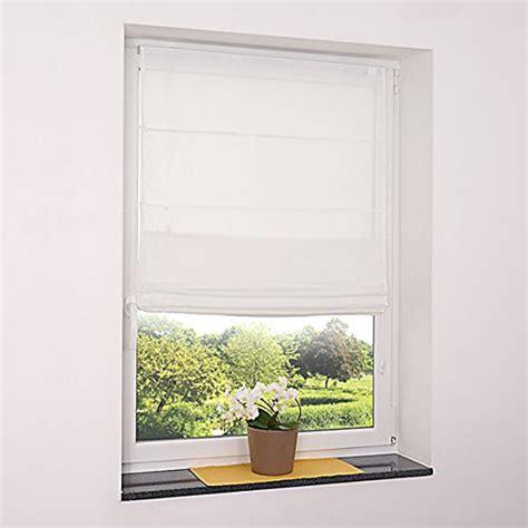 Tageslicht Auch Ohne Fenster by Fenster Raffrollo Weiss Tageslicht Raffgardine
