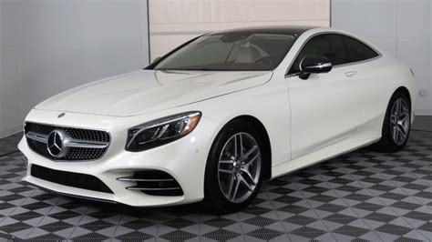 2018 New Mercedes-benz S-class S 560 4matic Coupe At