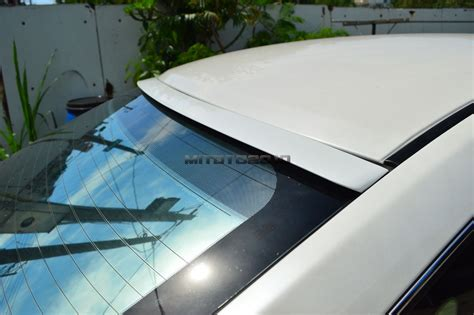 Painted Acura Tl Iii 4dr Sedan F-type Rear Roof Lip