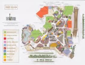 New York Las Vegas Hotel Map