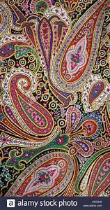 Paisley Muster Stoff : retro psychedelischen paisleymuster auf stoff stockfoto ~ Watch28wear.com Haus und Dekorationen