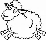 Sheep Coloring Pages Lamb Printable Jump Lambs Wecoloringpage Colouring Goats Minecraft Oveja Awesome Dog Getcolorings Shaun Template Animal Coloringbay Adults sketch template