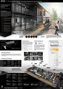 Interior, Design, Presentation, Board, On, Behance