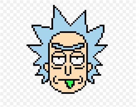 Rick Sanchez Morty Smith Bead Pixel Art PNG X Px