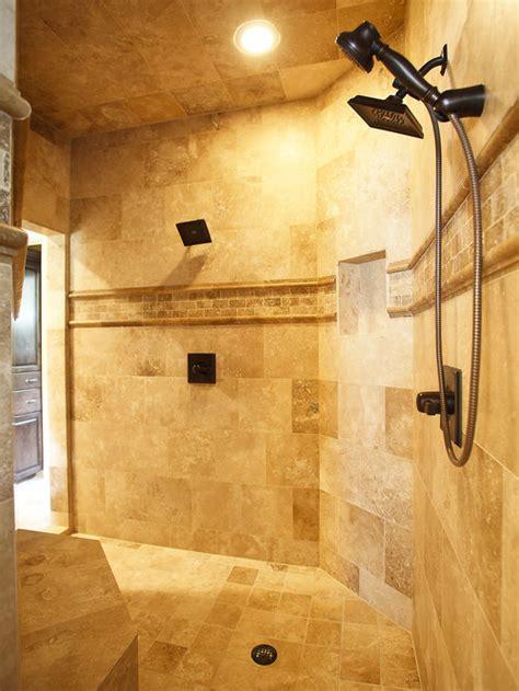 travertine tile shower houzz