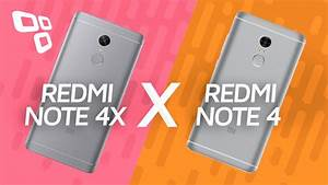 Xiaomi Redmi Note 4x Vs  Redmi Note 4