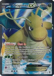 Dragonite-EX - 108/111 - Full Art Ultra Rare - Pokemon ...