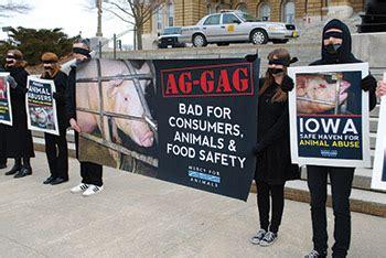 ag gag laws  threat