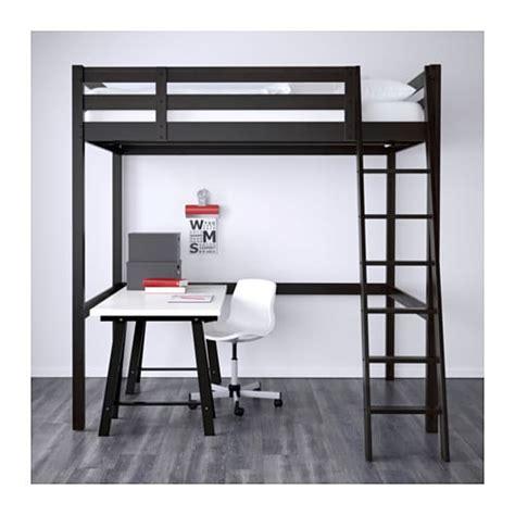 bureau mezzanine ikea storå structure lit mezzanine noir ikea