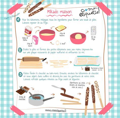 cours de cuisine pour ado recette de mikados maison