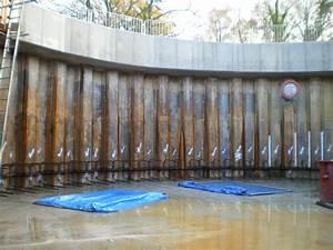 Permanent Steel Sheet Pile Storm Water Tank, Heathfield ...