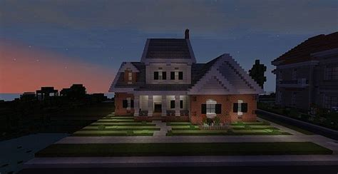 minecraft country house new american country home minecraft project
