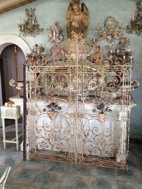 images  antique iron gates  pinterest