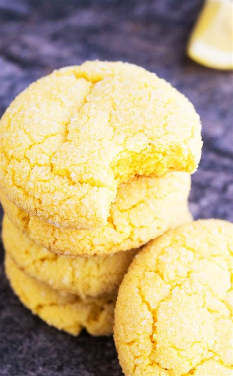 The best cookie recipes in the whole entire universe. Easy Lemon Cookies {Soft + Chewy!} - CakeWhiz