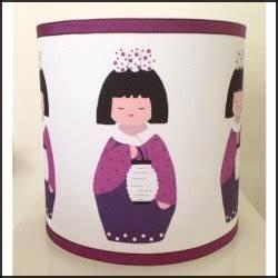 Abat Jour Fille : abat jour sissi kokeshi fille au lampion lili pouce boutique d co chambre b b enfants et ~ Teatrodelosmanantiales.com Idées de Décoration