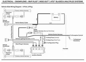 Western Plow Wiring Diagram 4 Port