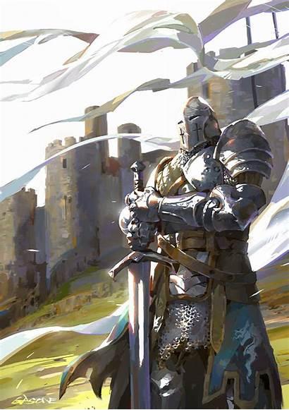 Knight Knights Honor Sun Medieval Armor Fantasy
