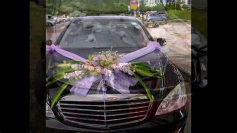 deco pour voiture mariage comment faire decoration voiture mariage visuel 7