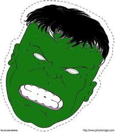 incredible hulk mask  printable masks