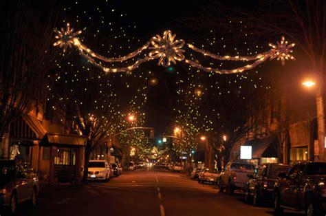 christmas towns  oregon