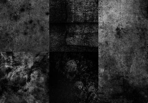 High Res Black and White Grunge Textures Free Photoshop