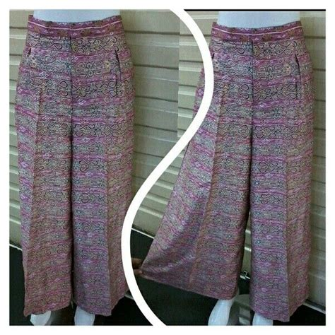 celana kulot batik 302abr 11 best celana kulot etnik batik images on