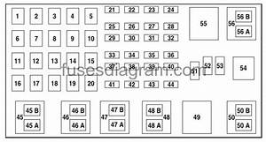 2002 Ford Ranger Fuse Panel Diagram