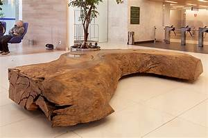 mind blowing natural wood installations by tora brasil With meuble pices