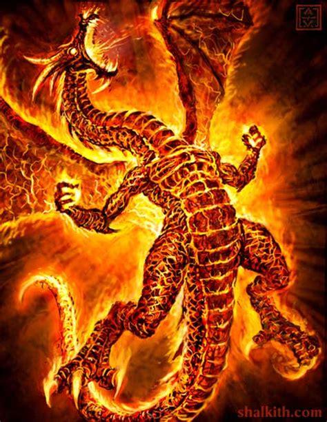 dragon breathing fire   clip art