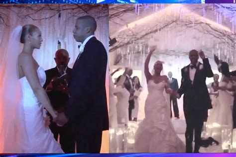 Never-before-seen Footage From Jay Z & Beyonce's Wedding