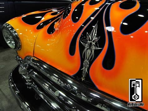 2012 Detroit Autorama Pinstriping Pictures   Pinstriping ...