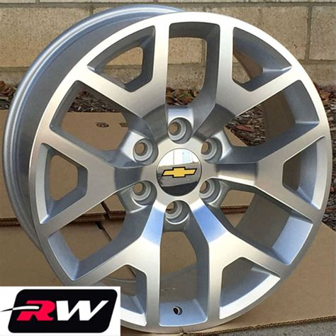 oe replicas wheels 2014 in 2014 gmc oe replica wheels 22 inch rims silver