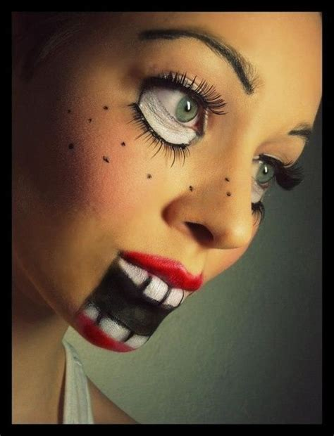 Doll Makeup, Doll Face And Halloween Makeup On Pinterest