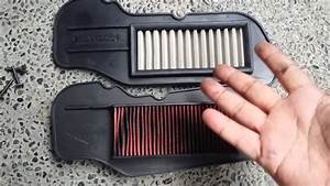 Ferrox Air Filter Supposedly To Fit In Mio Soul I 125