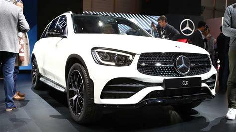 mercedes benz glc debuts  geneva  mild facelift