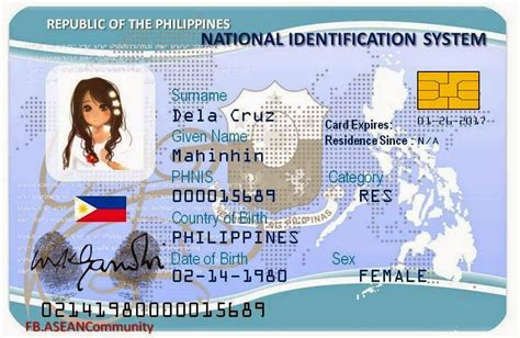 national id law nears approval philippine daily mirror