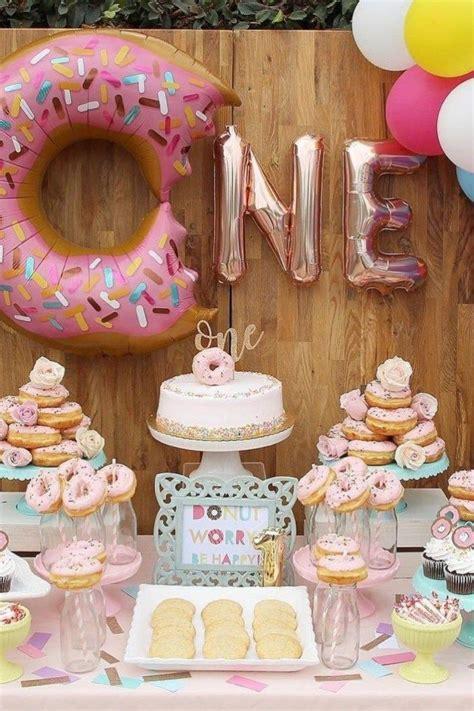 amazing decor ideas 23 donut themed birthday