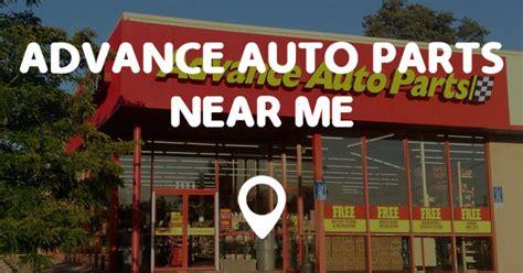 l parts store near me advance auto parts near me points near me