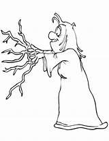 Coloring Dibujos Magic Dibujo Colorear Bruja Hechizo Lanzando Brujas Halo Witch Halloween Reach Pintar Cu Imagenes Imprimir Heksen Bruxas Spell sketch template