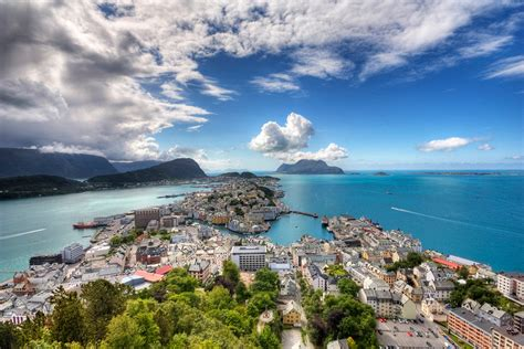 Beautiful Ålesund Norway I Like To Waste My Time