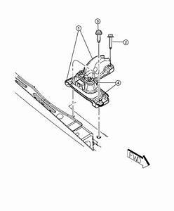 Dodge Grand Caravan Strap  Ground  Engine Mount  Engine
