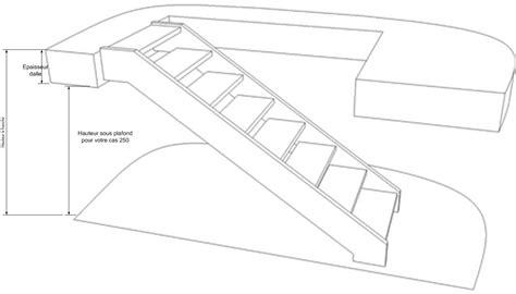 Escalier Calcul Tremie by Quelle Tr 233 Mie Pour Escalier 1 4 Tournant Interm 233 Diaire