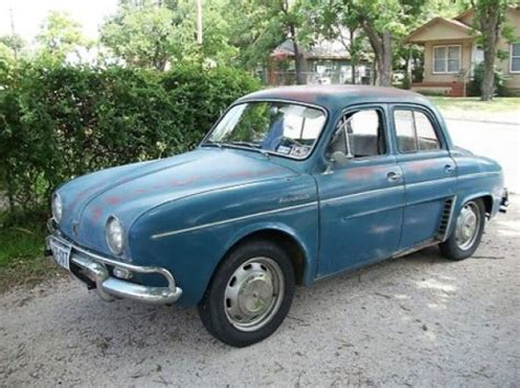 Renault Dauphine For Sale by Alaska 1959 Renault Dauphine Bring A Trailer