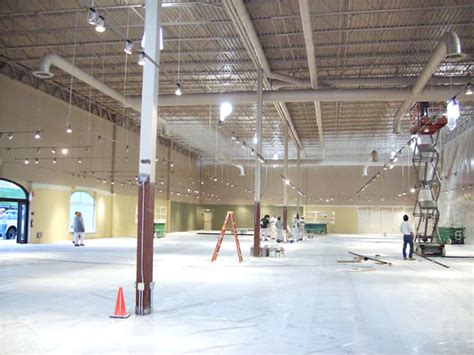 furniture row shopping center interior painting project jcc