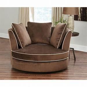 Abbyson, Livingsydney, Round, Swivel, Chair, New, New, New, New