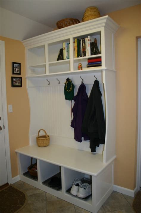 Custom Mudroom Furniture  Traditional  Laundry Room