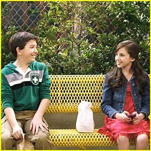 Bradley Steven Perry & Ryan Newman: Flirting Friends ...
