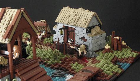 skyrims  moon mill rebuilt  lego  escapist